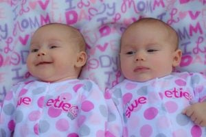 Cute babies, but that is some funky looking editing.