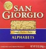alphabet noodles