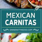 Pork Carnitas Recipe | Mexican Pulled Pork | Pork Tacos #pork #mexicanfood #glutenfree #lowcarb #keto #tacos #dinneratthezoo
