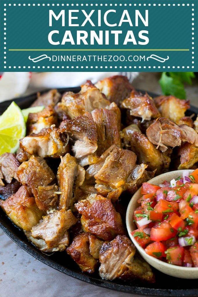 Pork Carnitas Recipe | Mexican Pulled Pork | Pork Tacos #pork #mexicanfood #glutenfree #lowcarb #keto #tacos #dinneratthezoo