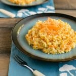 Parmesan Carrot Risotto (Carrot Rice)