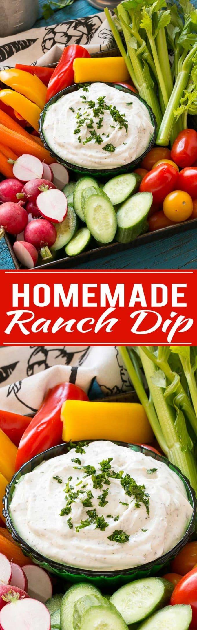 Homemade Ranch Dip Recipe | Homemade Ranch Powder | Homemade Ranch Dressing | Best Ranch Dip | Best Ranch Powder