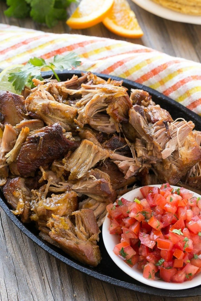 Pork Carnitas (Mexican Pulled Pork) - Dinner at the Zoo