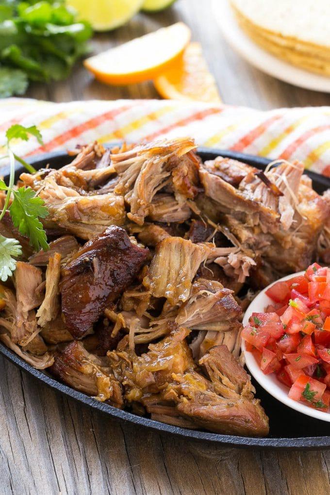 Mexican Pulled Pork (Carnitas) Recipe — Dishmaps
