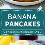 Banana Pancakes Recipe | Easy Pancakes | Pancake Recipe #pancakes #banana #breakfast #brunch #dinneratthezoo