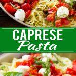 Caprese Pasta Recipe | Easy Pasta Recipe | Fresh Tomato Pasta | Caprese Recipe