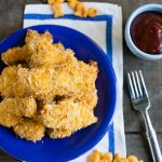 Cheesy Baked Chicken Fingers