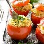 Easy Baked Stuffed Tomatoes