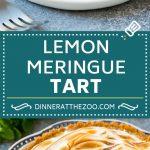 Lemon Meringue Tart | Lemon Dessert | Lemon Tart #tart #lemon #dessert #sweets #dinneratthezoo