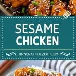 Sesame Chicken Recipe | Crispy Chicken | Asian Chicken #sesame #chicken #asian #dinner #dinneratthezoo