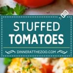Stuffed Tomatoes Recipe | Sausage Stuffed Tomatoes #tomatoes #sausage #rice #dinner #dinneratthezoo