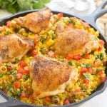 Spanish Arroz con Pollo (Chicken with Rice)