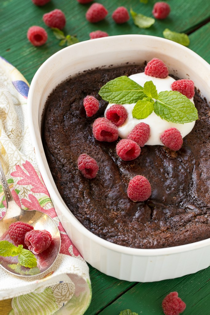 Recipe Chocolate Pudding Cake Boiling Water