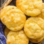 This recipe for mini cornbread puddings is like the most flavorful and delicious corn muffins that you've ever had - never dry and crumbly, I promise