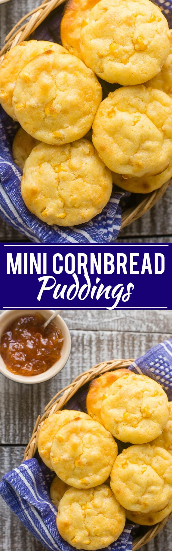 Mini Cornbread Pudding Recipe | Best Cornbread Muffins | Easy Cornbread Muffins