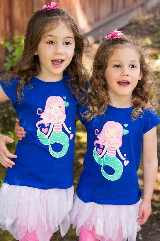 Birthday girls - Under the Sea birthday party