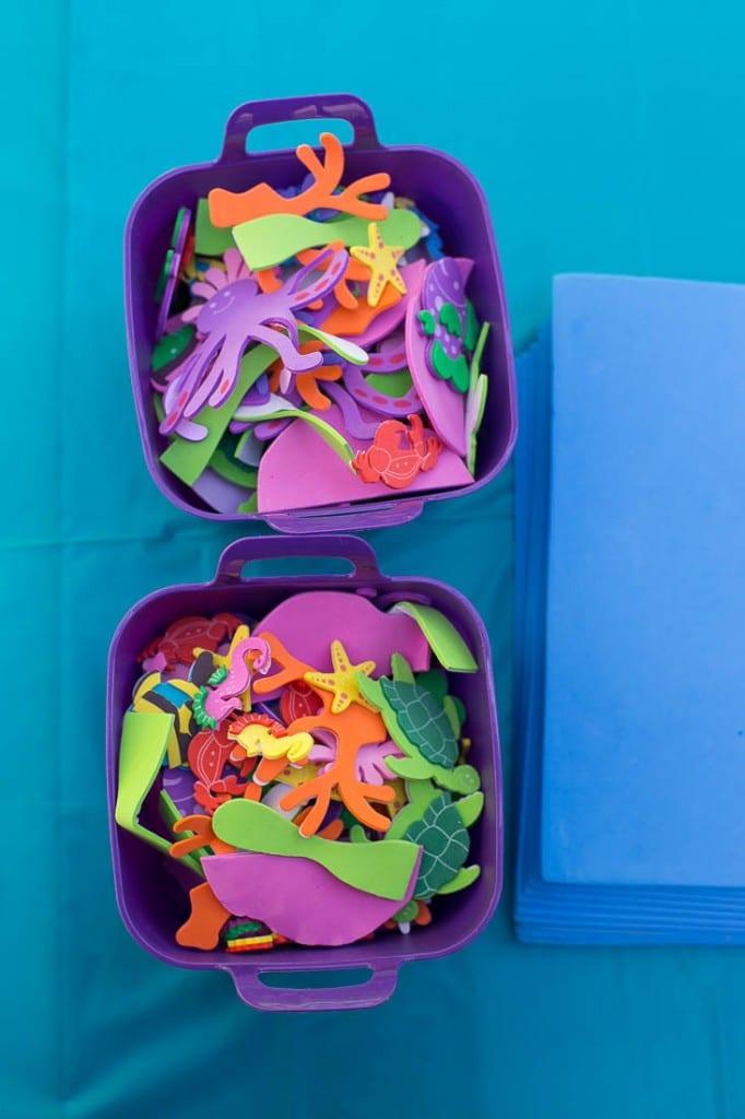 Sea creature craft - Under the Sea birthday party