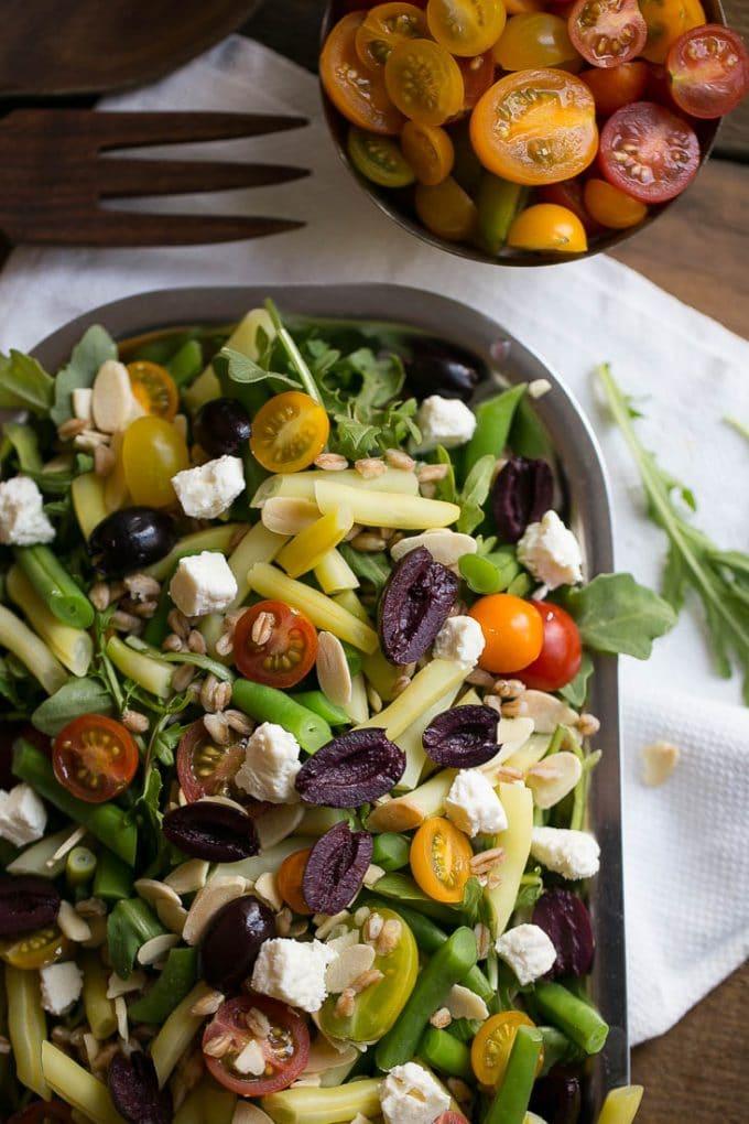 Mediterranean Grain Salad Recipe — Dishmaps