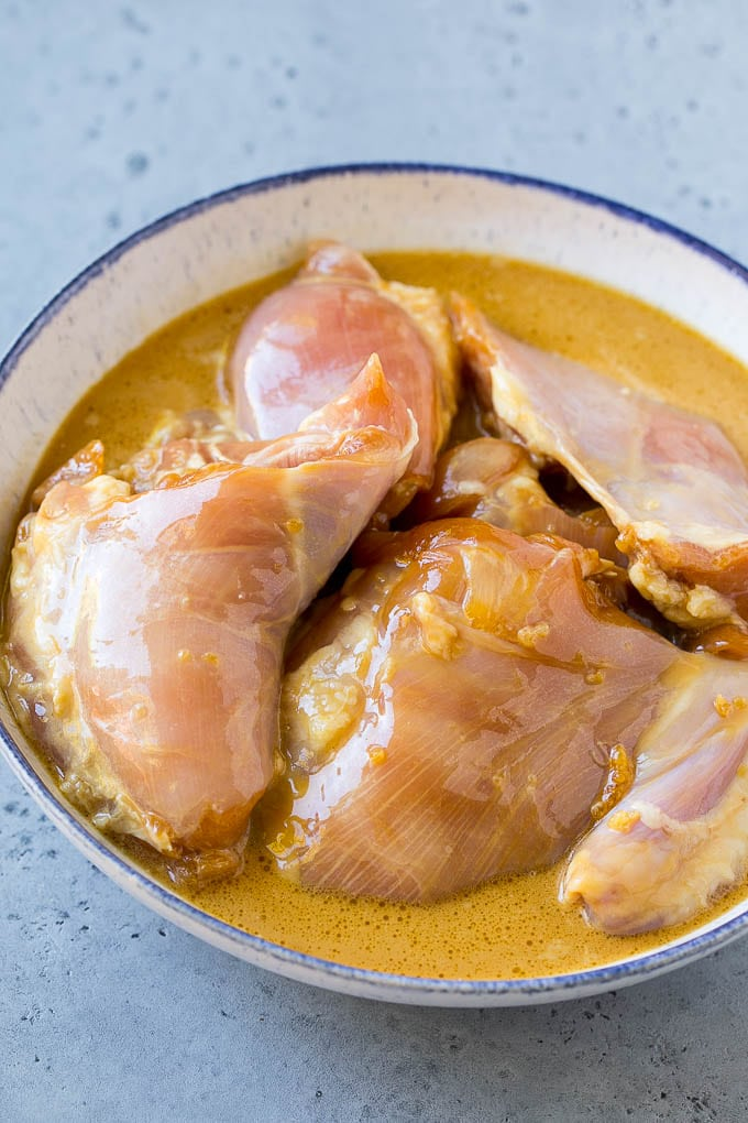 how to cook chicken breast with coconut oil