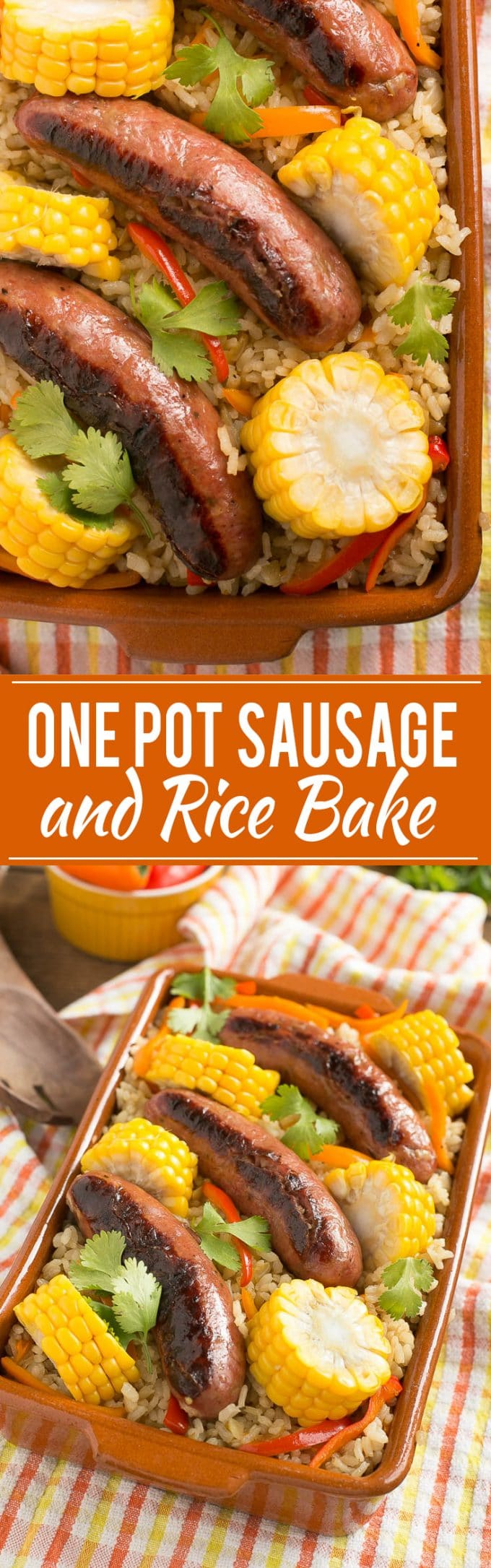 One Pot Sausage and Rice Casserole Recipe | One Pot Casserole | Sausage and Rice Casserole | Easy Sausage and Rice Casserole | Best One Pot Rice Casserole | One Pot Sausage and Rice Bake Recipe