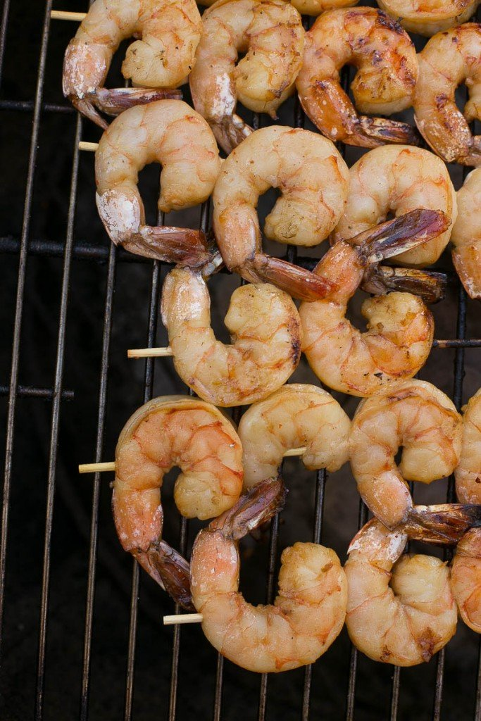 These grilled lemon sriracha shrimp are a little bit sweet, a little bit spicy and a whole lot delicious! Ad