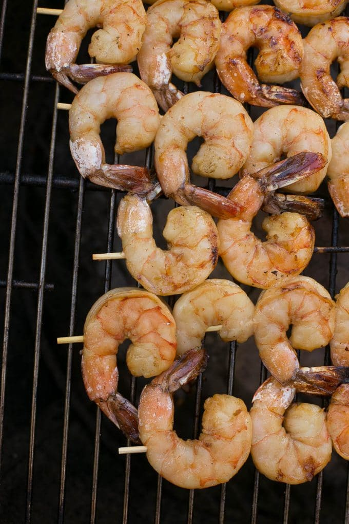 These grilled lemon sriracha shrimp are a little bit sweet, a little ...