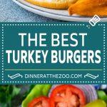 Turkey Burgers Recipe | Grilled Burgers #burger #turkey #dinner #sandwich #dinneratthezoo #grilling