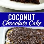 Chocolate Coconut Cake Recipe | Easy Chocolate Cake | Chocolate and Coconut Recipe