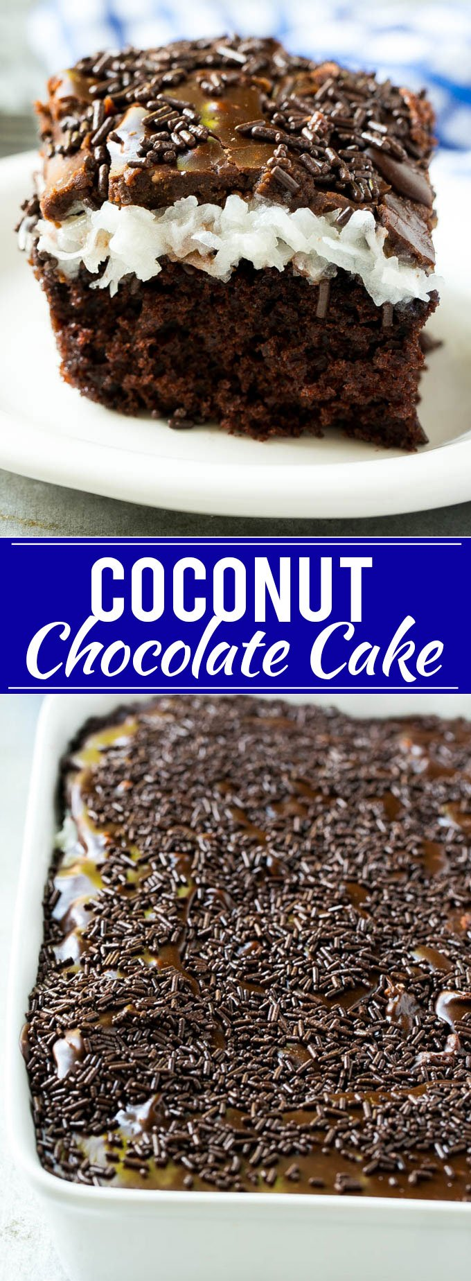 Chocolate Coconut Cake Recipe | Easy Chocolate Cake | Chocolate and Coconut Recipe #cake #chocolate #coconut #dessert #dinneratthezoo