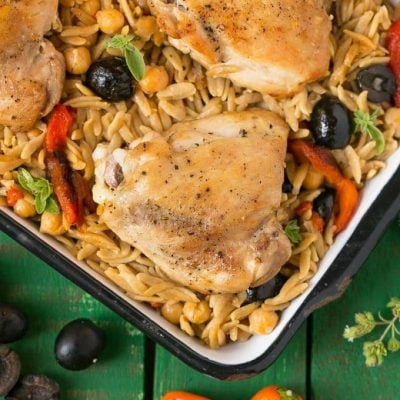 One Pot Mediterranean Chicken