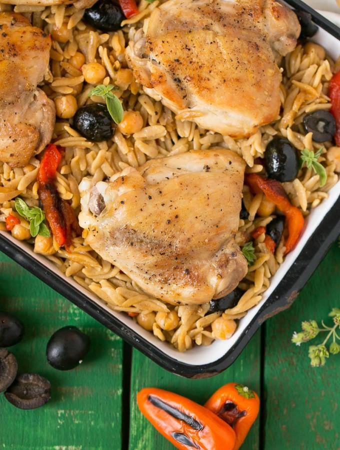 One Pot Mediterranean Chicken