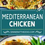 Mediterranean Chicken Recipe | One Pot Chicken #chicken #pasta #healthy #onepot #dinner #dinneratthezoo