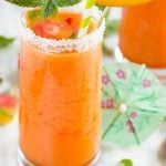 Strawberry Mango Agua Fresca