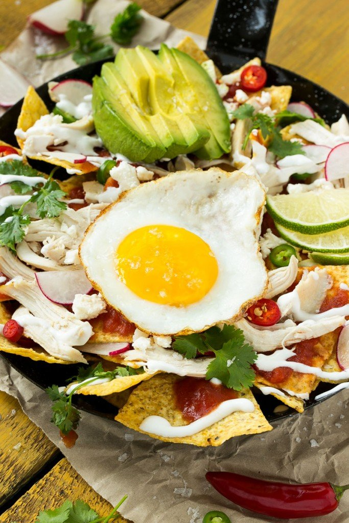 Quick & Easy chicken chilaquiles, packed with flavor and ready in less than 30 minutes.