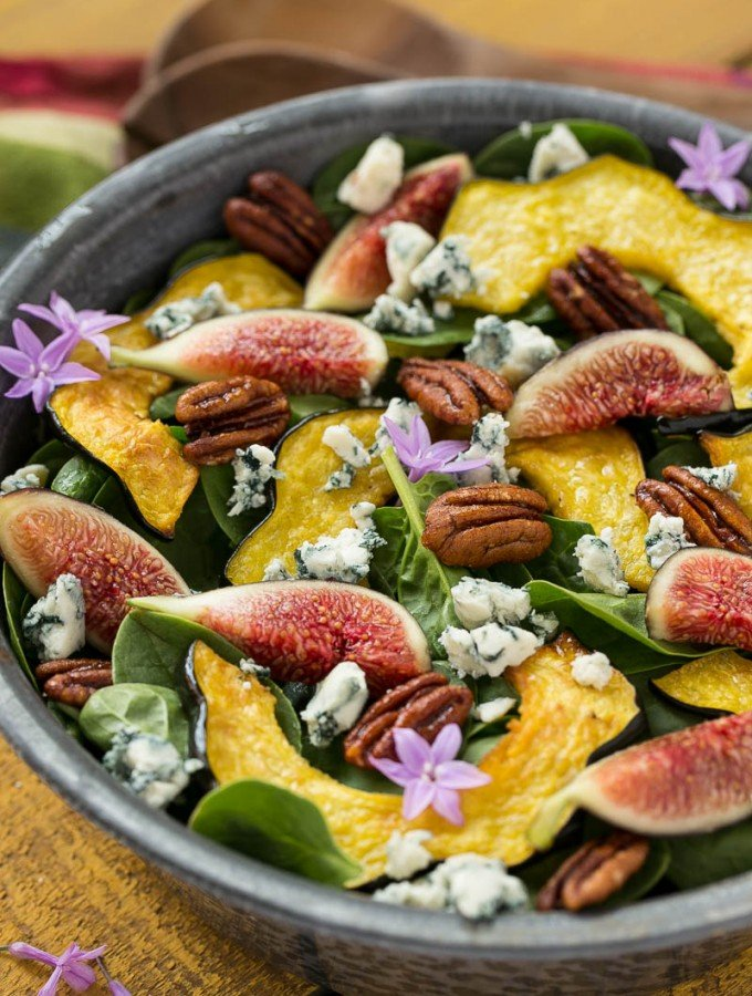 Fig Spinach Salad