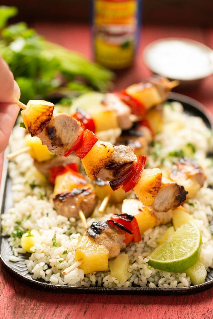 Pork And Pineapple Kebabs Recipes — Dishmaps