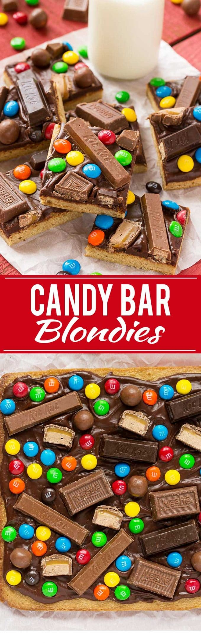 Candy Bar Blondies Recipe | Easy Candy Bar Cookies | Candy Bar Blondies | Best Blondies | Easy Candy Bar Blondies | Best Candy Bar Cookies