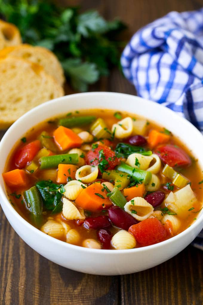 Minestrone Soup Dinner At The Zoo