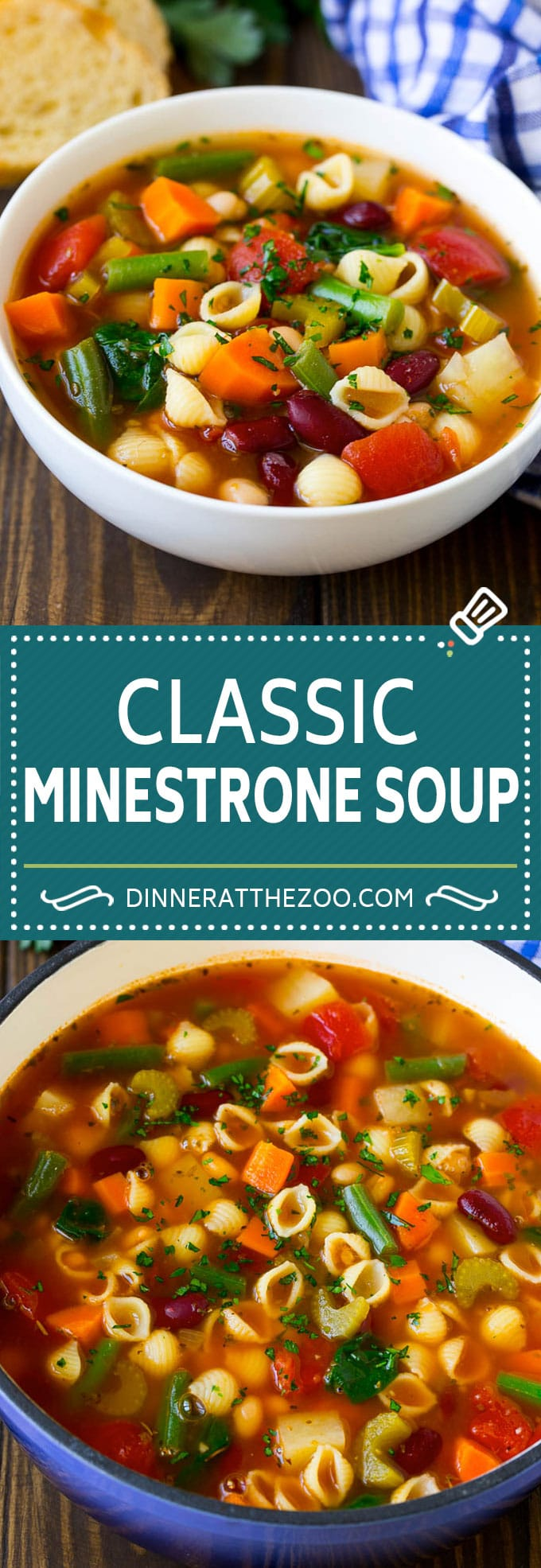 Minestrone Soup Recipe | Vegetable Soup | Vegetarian Soup #soup #minestrone #vegetables #vegetarian #onepotmeal #dinner #dinneratthezoo