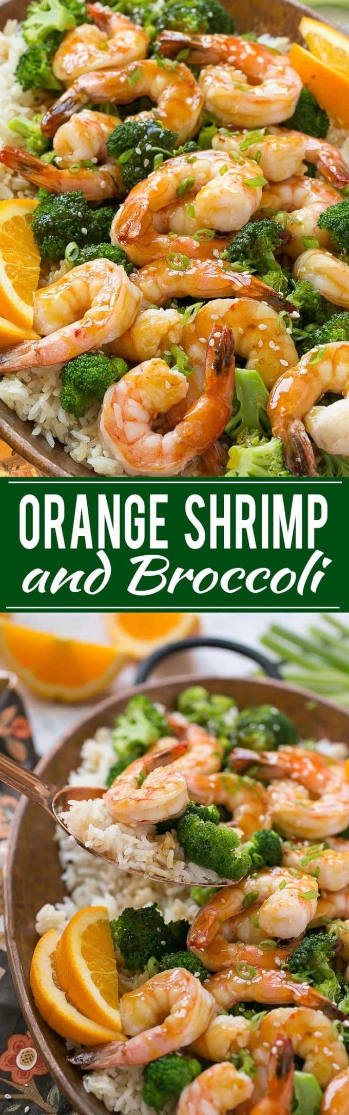 Orange Shrimp and Broccoli Recipe | Orange Shrimp Stir Fry | Orange Shrimp and Broccoli Stir Fry | Shrimp and Broccoli Stir Fry