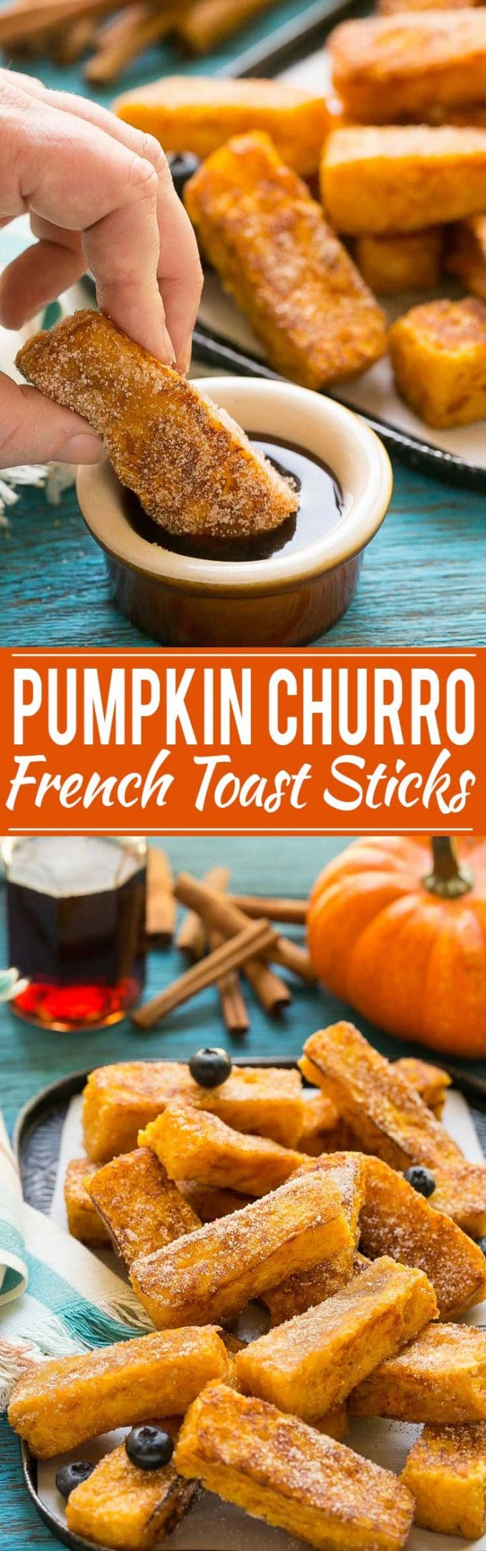 Pumpkin Churro French Toast Sticks Recipe | Pumpkin Churro French Toast Sticks | French Toast Sticks | Pumpkin French Toast Sticks