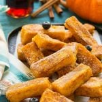 Pumpkin Churro French Toast Sticks