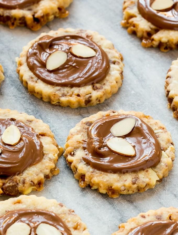 Almond Roca Cookies