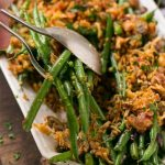 Bacon Ranch Green Beans
