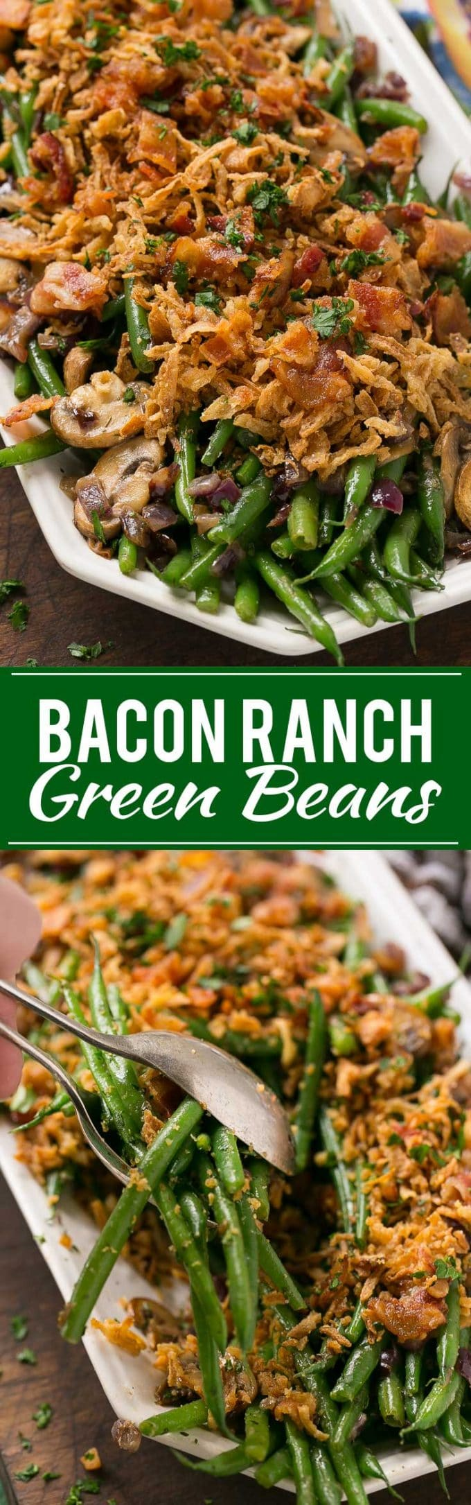 Bacon Ranch Green Beans Recipe | Bacon Ranch Green Beans | Bacon Green Beans | Best Green Beans | Best Bacon Green Beans | Easy Bacon Green Beans