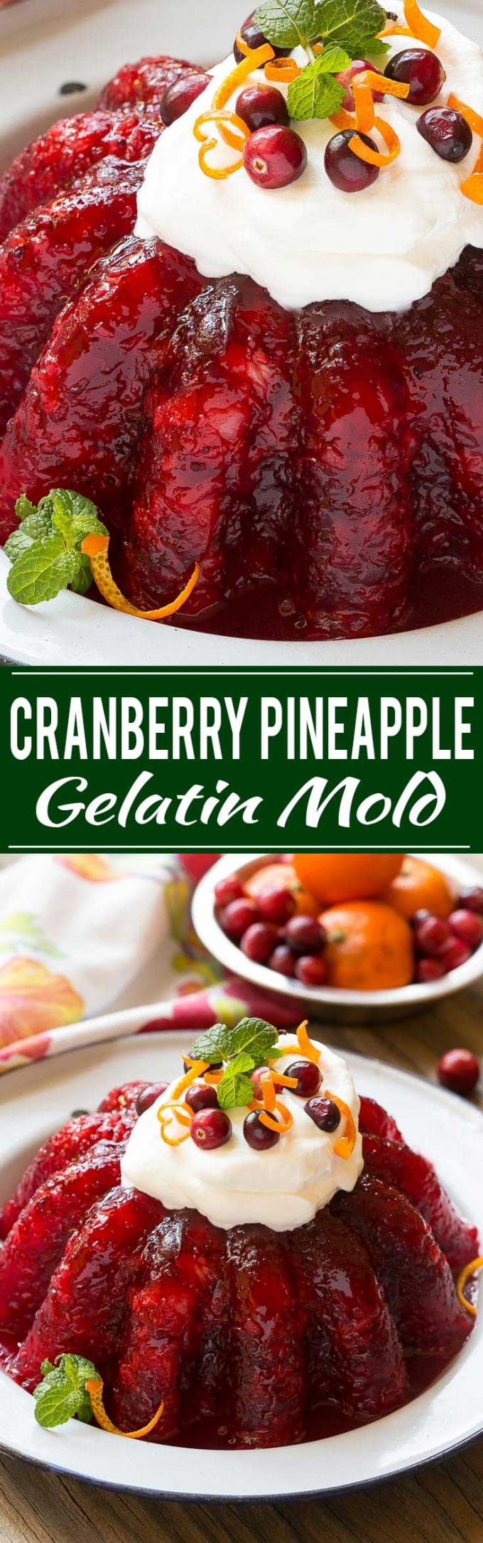 Cranberry Jello Salad Recipe | Cranberry Raspberry Jello | Cranberry Jello | Best Cranberry Jello | Best Cranberry Salad