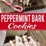 These peppermint bark cookies are fun, festive and simple to make, plus tips for throwing the perfect holiday baking party. #HolidayMoments ad