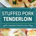 Stuffed Pork Tenderloin Recipe   Roasted Pork Tenderloin   Italian Pork #pork #onepan #potatoes #dinner #dinneratthezoo #glutenfree