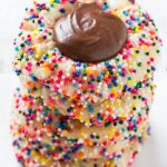 Chocolate Fudge Cookies with Sprinkles