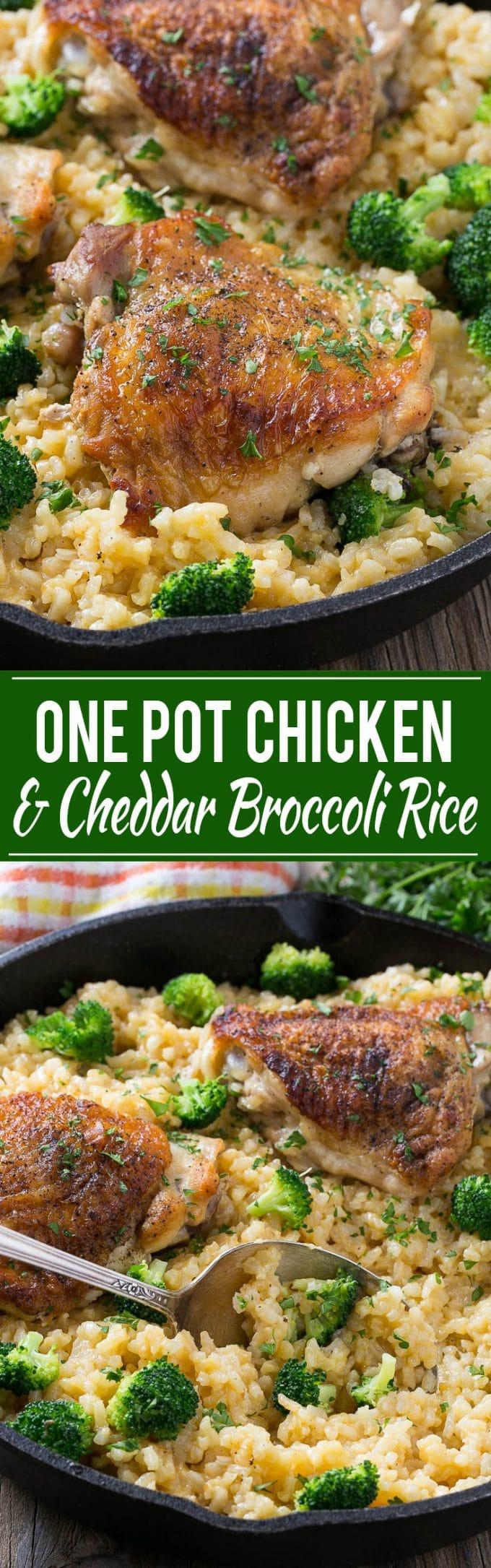 Chicken Broccoli and Rice Casserole Recipe | One Pot Chicken Rice Casserole | Chicken Broccoli Rice Casserole | One Pot Chicken and Rice